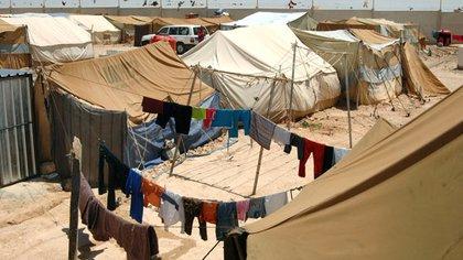 Tanto la niña, como los otros refugiados que llegaron a Chile en 2008, vivieron en la frontera entre Siria e Irak, específicamente en el campamento Al Tanf