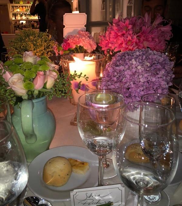 La decoración de las mesas