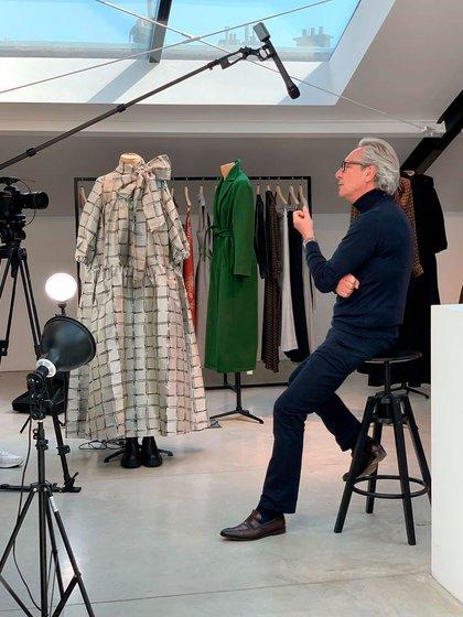 El diseñador Edouard Vermoulen, el elegido por las Primeras Damas y la realeza europea (@natancouture)