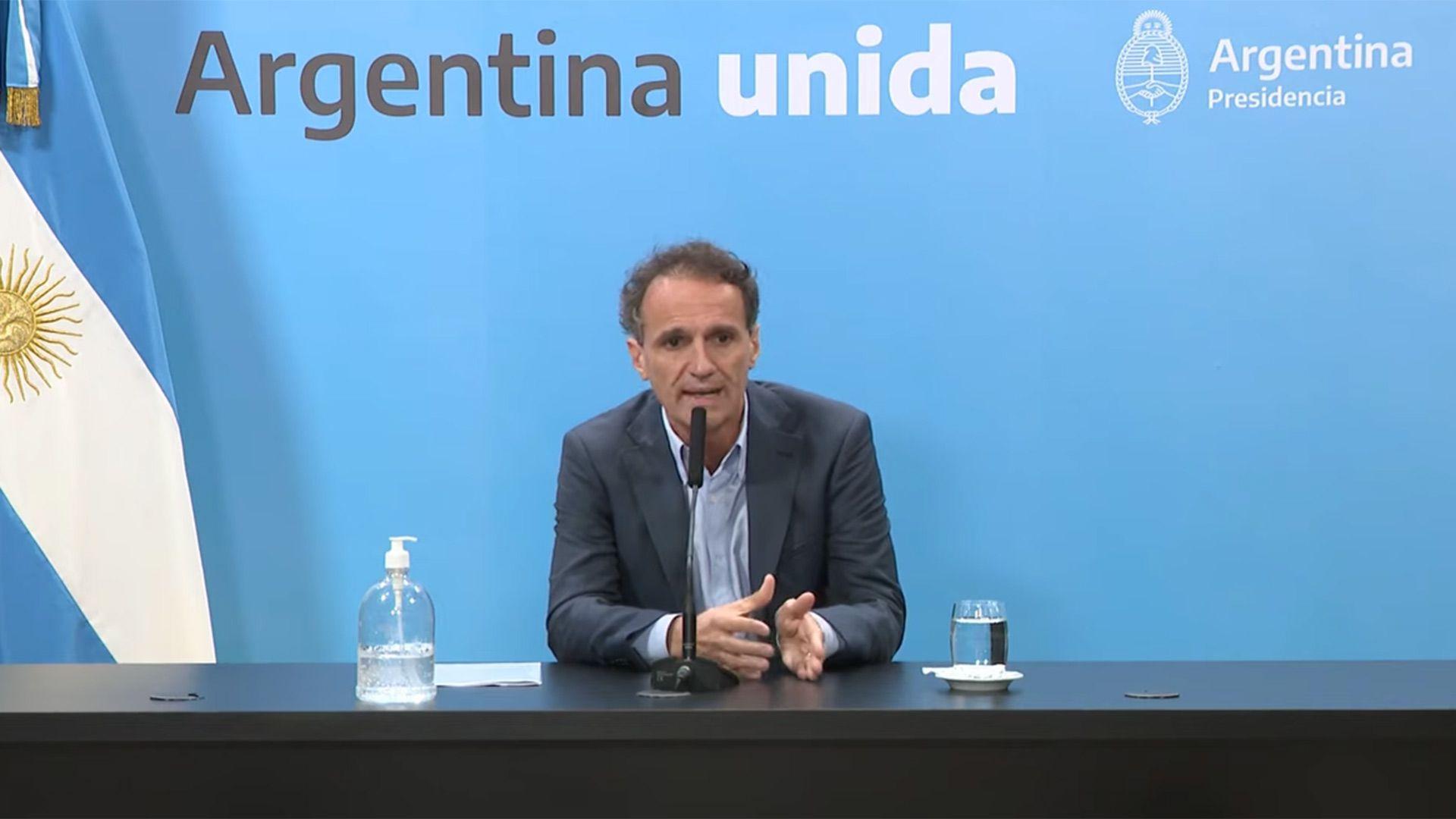 El ministro Katopodis anunció las construcciones mediante una conferencia de prensa