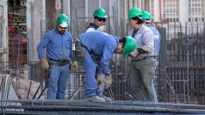 Construcción, uno de los sectores más afectados por la contracción de la actividad general (NA)