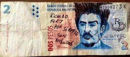 El fallecido Ricardo Fort, protagonista de la cultura pop argentina