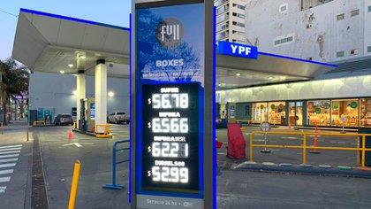 Es el primer aumento de precios de combustibles durante el Gobierno de Alberto Fernández