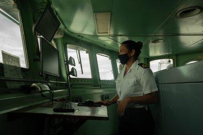 Teniente de Corbeta Daniela Albino: