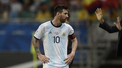 Messi y la Argentina buscan ganar el primer título de la albiceleste desde 1993 (Foto: Juan Mabromata/ AFP)