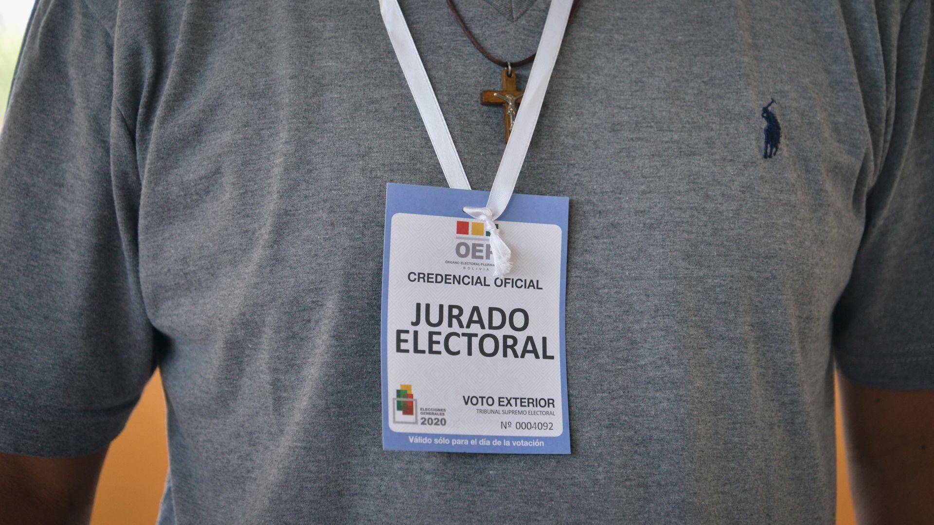 Elecciones del Estado Plurinacional de Bolivia en Argentina - La Matanza - Buenos Aires
