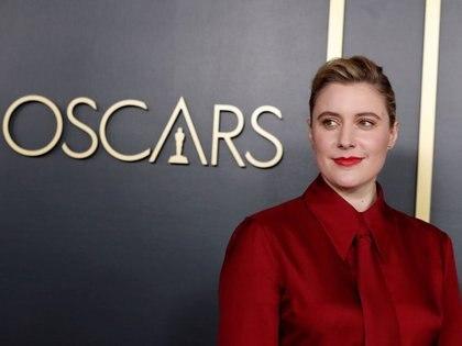 FOTO DE ARCHIVO: Greta Gerwig asiste al almuerzo de nominados a los premios de la Academia número 92 en Los Ángeles, California, EEUU. 27 de enero de 2020. REUTERS/Mario Anzuoni