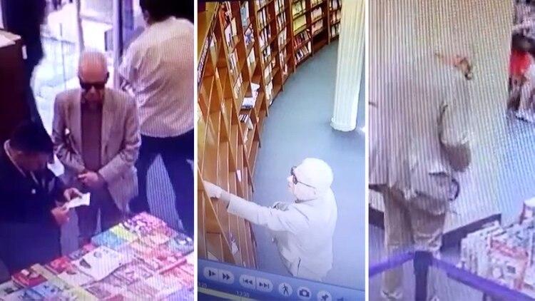 El Embajador fue sorprendido hurtando un libro en El Ateneo.