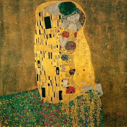 """""""El beso"""" (1907-1908)en Museo Balvedere, Viena"""