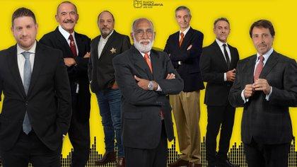 Jonatan Viale, Rolando Hanglin, Baby Etchecopar, Oscar González Oro, Nelson Castro, Luis Majul y Eduardo Feinmann, parte de los periodistas destacados de la señal