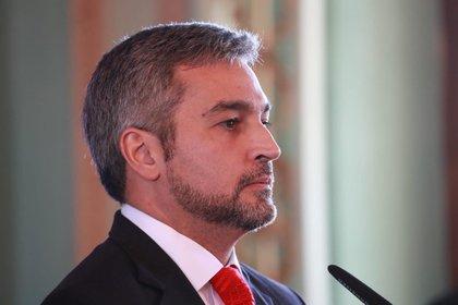El presidente de Paraguay, Mario Abdo Benítez (Europa Press)