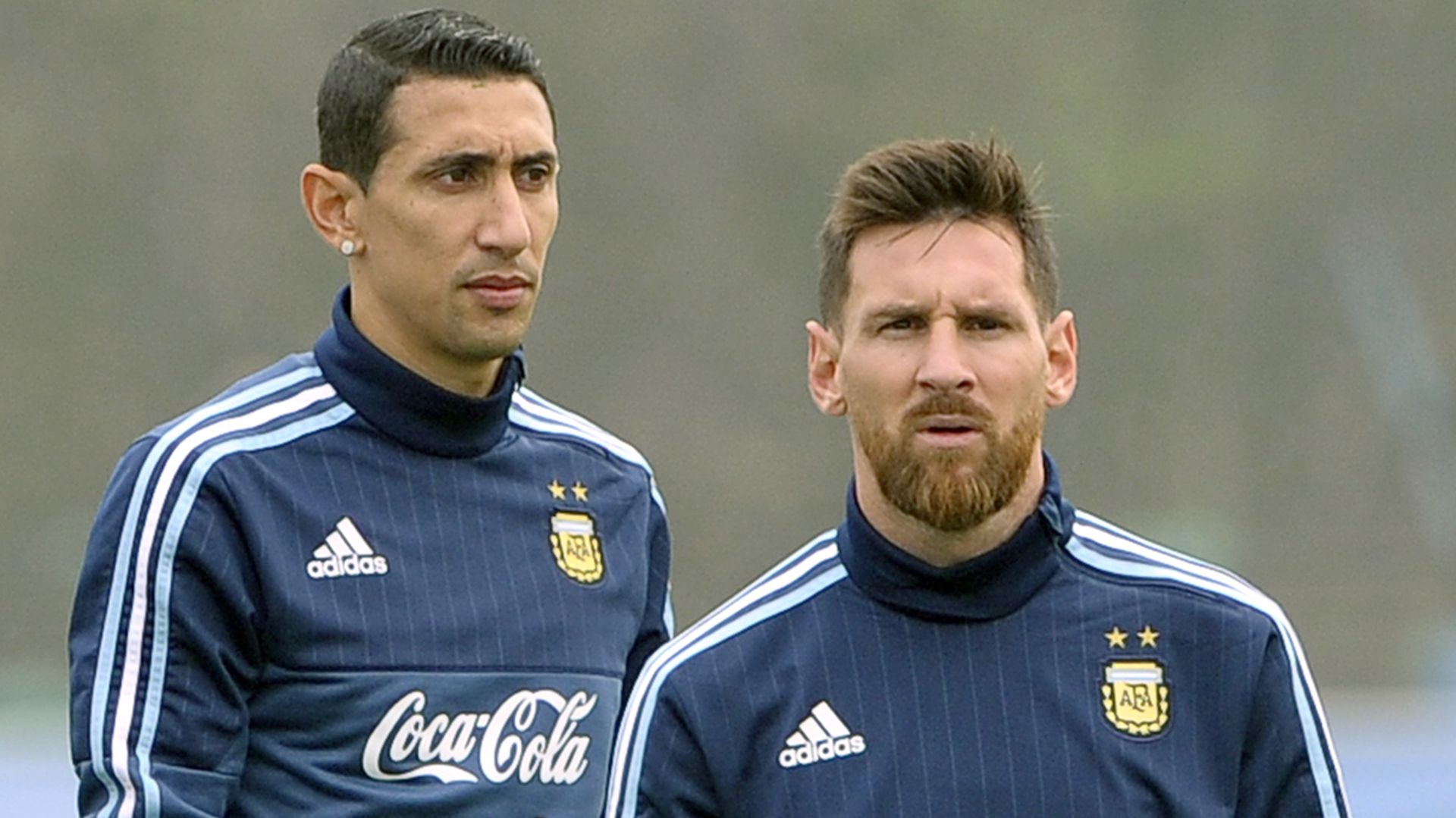 Di María y Messi no estuvieron lejos de jugar juntos en Francia en la temporada que acaba de comenzar (AFP)