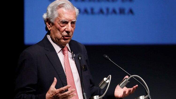 Vargas Llosa justificó la preocupación de intelectuales mexicanos EFE/ Francisco Guasco (EFE)