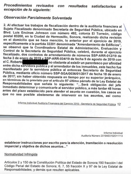 """En el informe de la Auditoría Financiera del Ejercicio 2019 elaborado por el ISAF se señala la observación como """"parcialmente solventada"""", es decir, que el procedimiento continúa."""