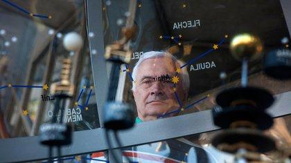 El doctor Alberto Etchegoyen, representante argentino frente al comité internacional QUBIC, es uno de los líderes argentinos del proyecto científico (Unsam)