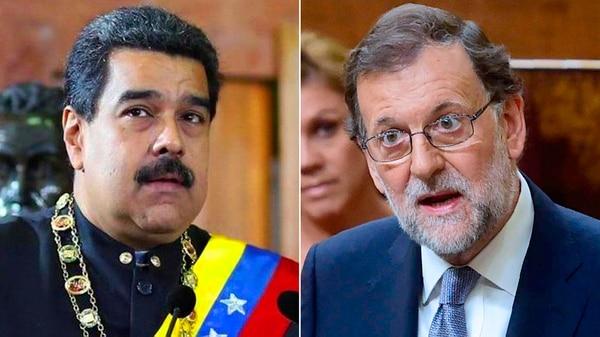 El gobierno de España convocó al embajador venezolano luego de que Nicolás Maduro insultara a Mariano Rajoy