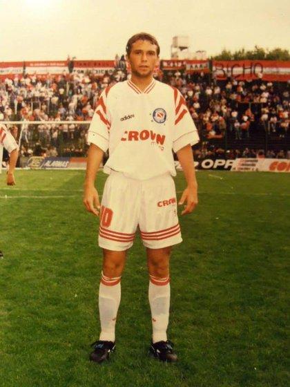 Un 5 con dotes de 10: Markic durante sus inicios en Argentinos Juniors