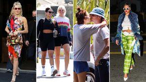 El particular look de Miley Cyrus, el compromiso de Tallulah Willis con Dillon Buss: celebrities en un click