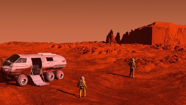 El viaje a Marte podría ser un problema si hay tripulantes de distintos sexos (iStock)