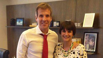 Martín Redrado y Amalia Granata se conocieron cuando ella le hizo una entrevista, en 2014