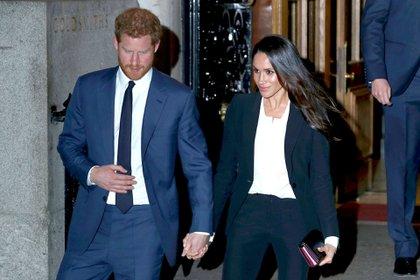 El príncipe Harry y Meghan Markle concedieron una entrevista a Oprah Winfrey. Saldrá al aire el 7 de marzo (Shutterstock)