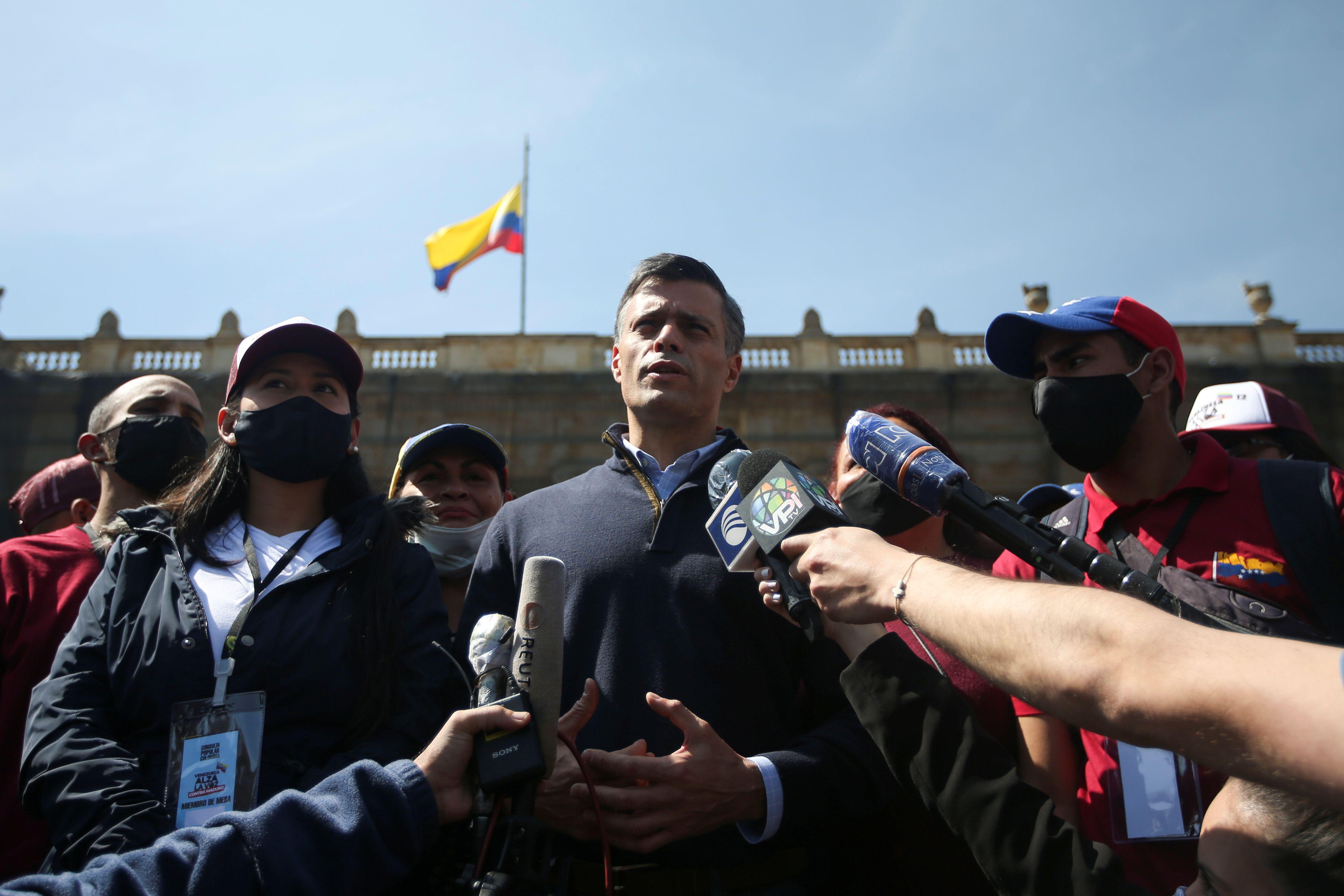 Leopoldo López (REUTERS/Luisa González)