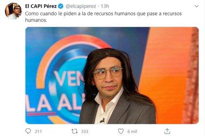 """La primera reacción del Capi a los comentarios de """"Ventaneando"""""""