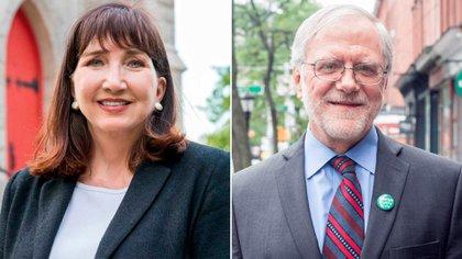 Jo Jorgensen (Partido Libertario) y Howie Hawkins (Partido Verde) intentarán dar pelea en las elecciones. Aunque lejos de ganar, si obtienen buenos resultados podrán tener un efecto en el resultado final