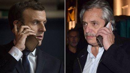 Emmanuel Macron y Alberto Fernández hablarán el sábado por teléfono