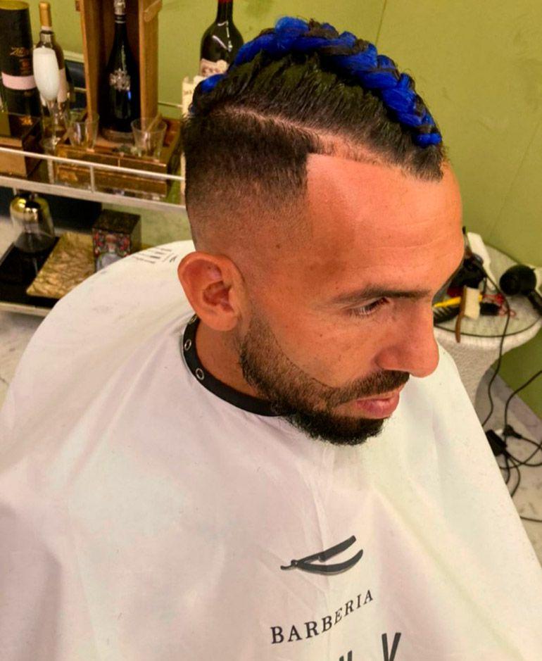 El nuevo look de Carlos Tevez