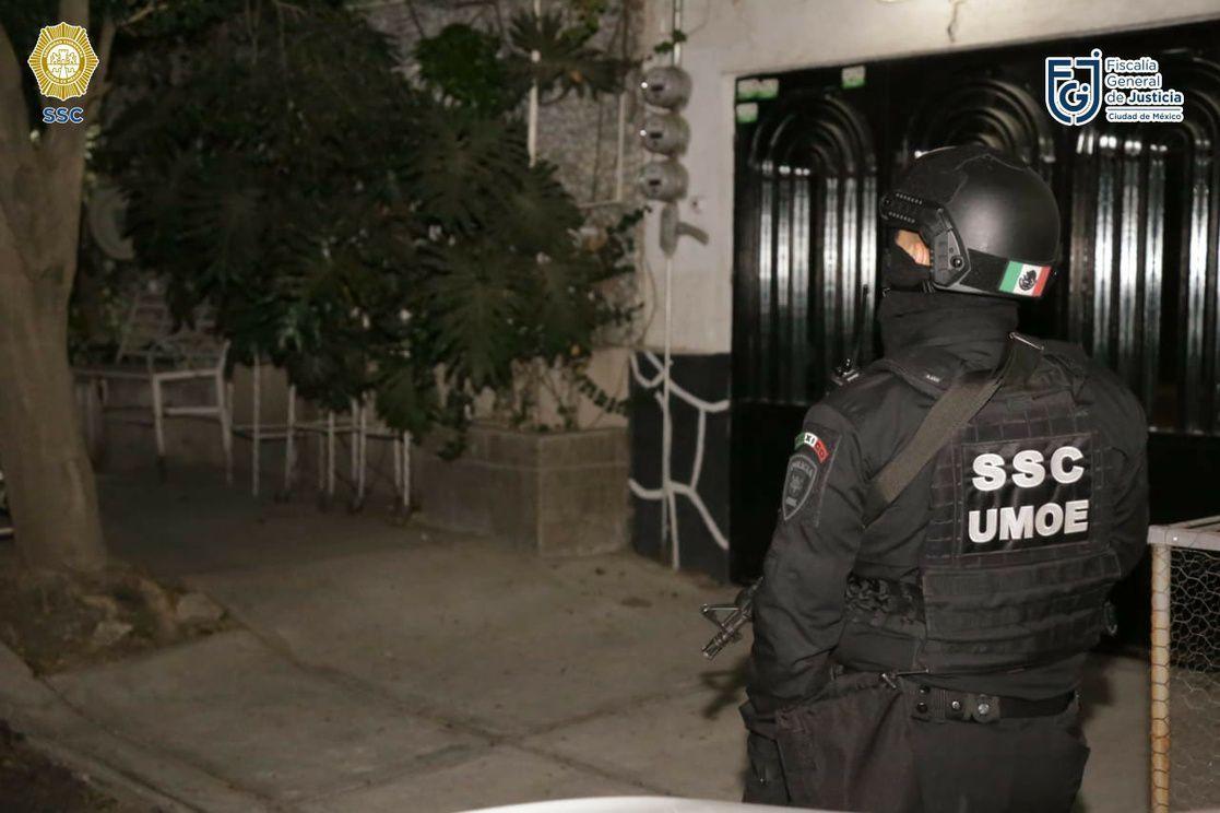 detenidos en Venustiano Carranza (Foto: SSC)