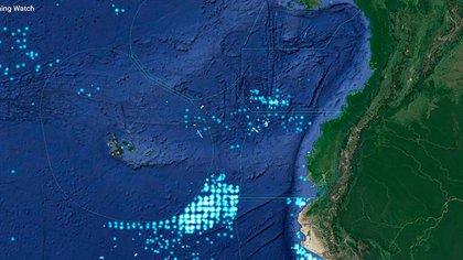 El Gobierno ecuatoriano advirtió a China que hará respetar su soberanía marítima alrededor del Archipiélago de las Galápagos, a unos 1.000 kilómetros de la costa continental (@CancilleriaEc)