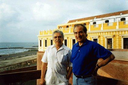 García Márquez y Tomas Eloy Martinez