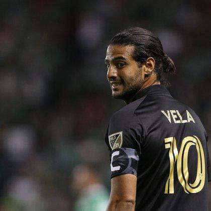 Carlos Vela, jugador mexicano de Los Ángeles FC. (Foto: /Gustavo Becerra/EFE/Archivo)