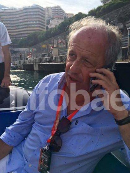 Alejandro Talevi en uno de sus viajes al exterior (Infobae).