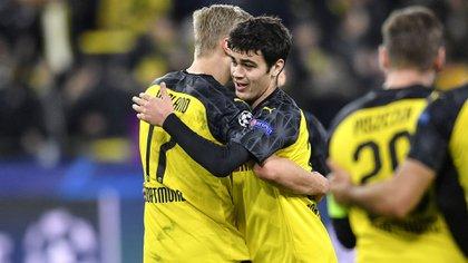 Giovanni Reyna es una de las grandes promesas del Dortmund (Foto: Reuters)