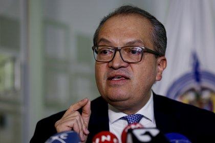 El procurador general de Colombia, Fernando Carrillo. EFE/LEONARDO MUÑOZ/Archivo