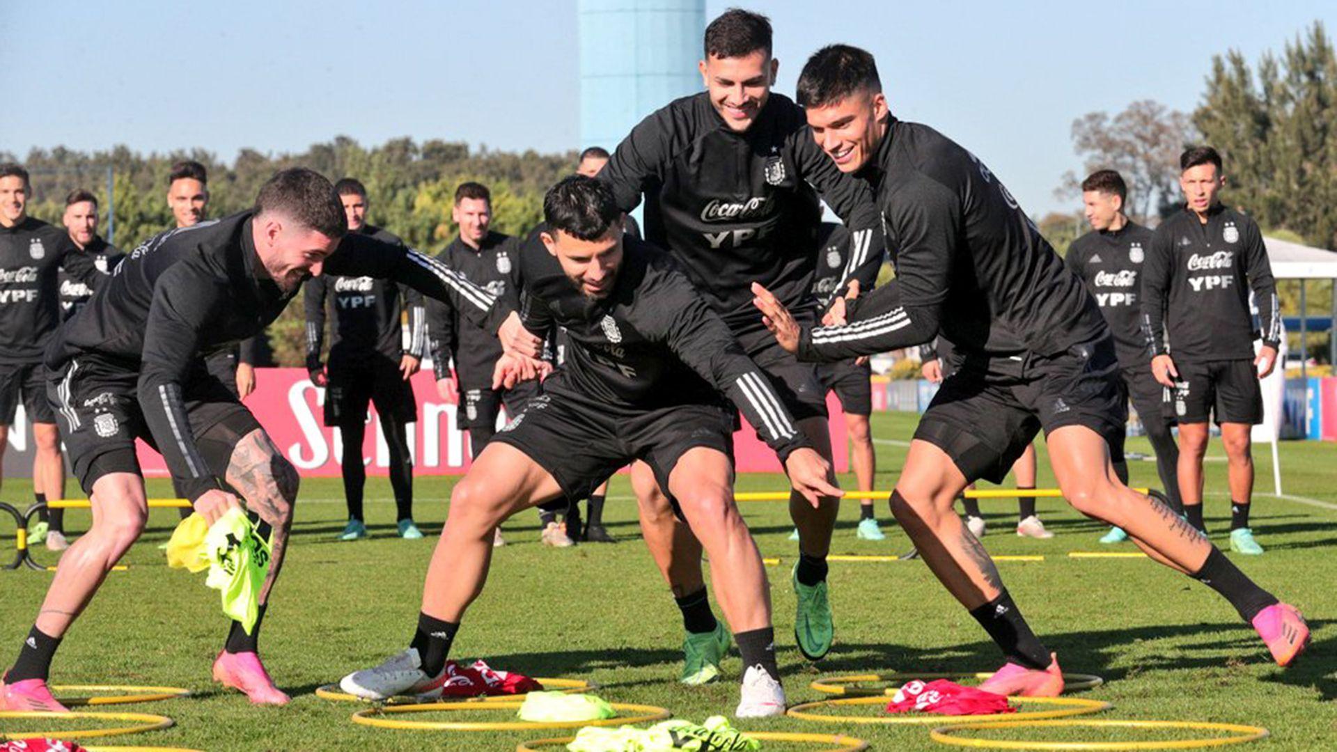 última práctica de la Selección argentina