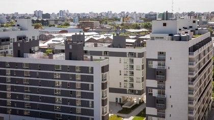 Estación Buenos Aires cuenta con 2.396 viviendas, distribuidas en 56 edificios con terrazas verdes