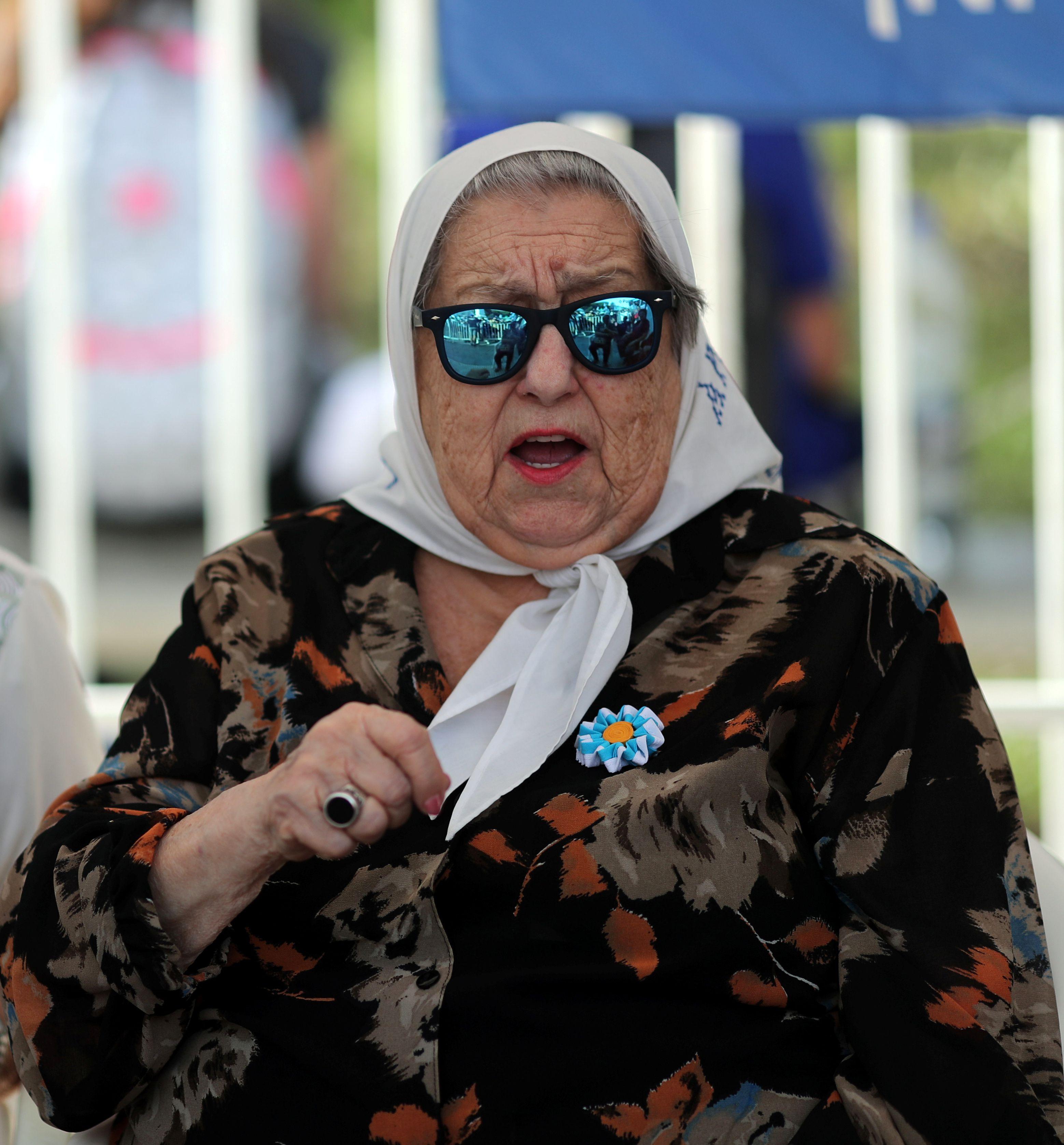 Hebe de Bonafini, titular de las Madres de Plaza de Mayo (Foto: Reuters)