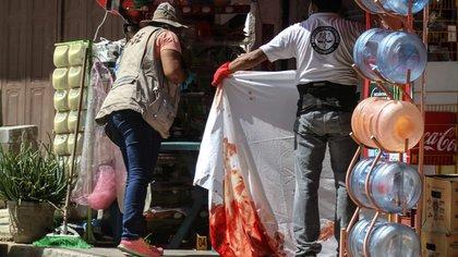 La violencia no ha cesado a pesar de la emergencia sanitaria por el coronavirus (Foto: Bernardino Hernández/Cuartoscuro)