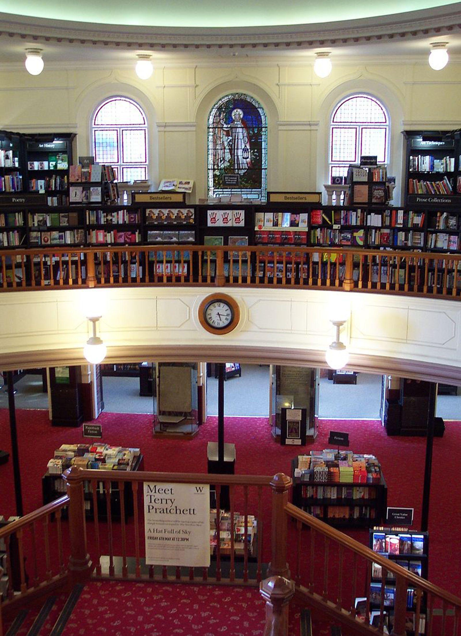 Waterstones, la cadena de librerías más grande de Reino Unido