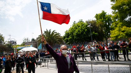 Los últimos días se registraron manifestaciones masivas en Chile (AFP)