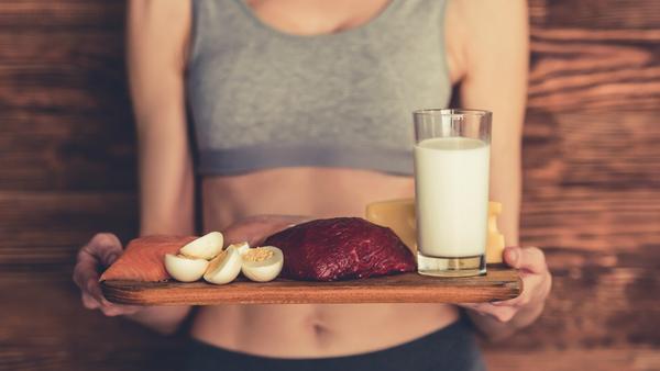 Las proteínas son esenciales para los días posteriores al ejercicio (Getty)