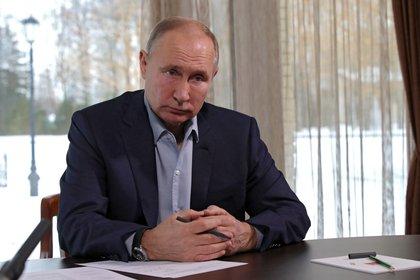 El presidente ruso, Vladimir Putin. EFE/EPA/MIKHAIL KLIMENTYEV/SPUTNIK/KREMLIN