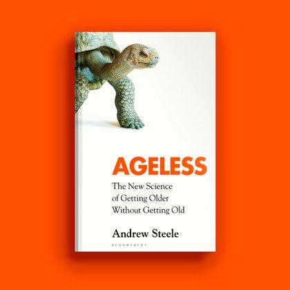 """La portada de la edición británica de """"Ageless"""" (Bloomsbury)"""