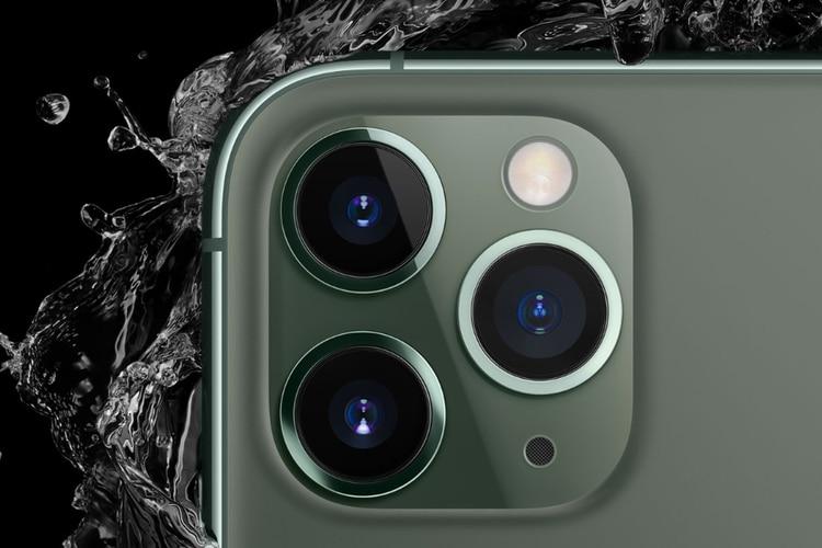 El iPhone 11 Pro en sus dos tamaños cuenta con triple cámara trasera (Foto: apple.com)