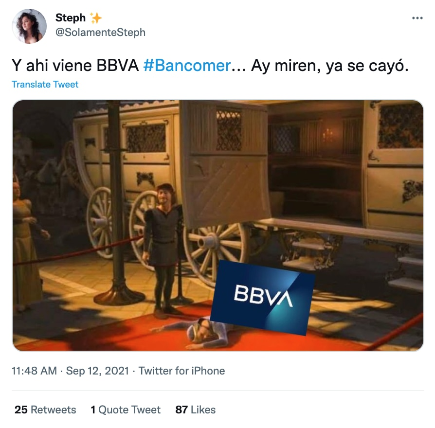 Memes caída de BBVA