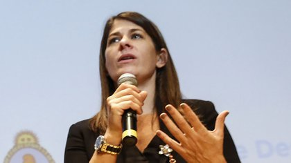 La ministra de Desarrollo Humano y Hábitat de la Ciudad, Guadalupe Tagliaferri (Foto: NA)