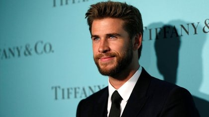 Actor Liam Hemsworth poses at a reception for the re-opening of the Tiffany & Co. store in Beverly Hills, California U.S., October 13, 2016.   REUTERS/Mario Anzuoni